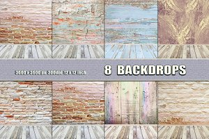 Photograpy Backdrop Room Pastel