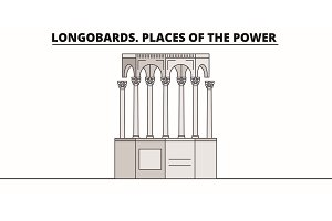 Longobards. Places Of The Power  lin