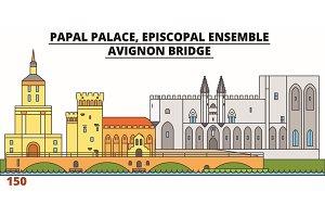 Papal Palace, Episcopal Ensemble -