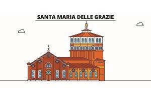 Santa Maria Delle Grazie line travel