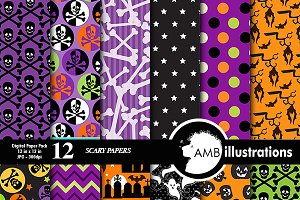Halloween Scary Papers AMB-152