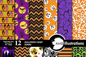 Halloween Night Papers AMB-153