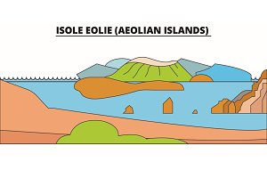 Isole Eolie (Aeolian Islands)  lin