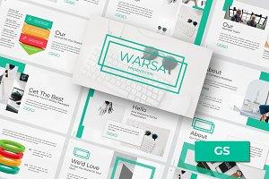 Warsa - Google Slide Template