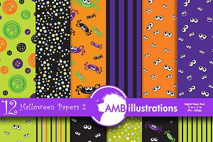 Halloween spooky papers AMB-402