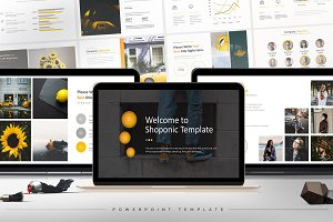 Shoponic - Powerpoint Template