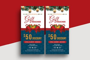 Christmas Gift Voucher V14