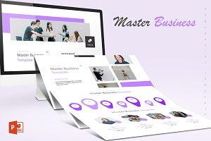 Master Business - Powerpoint Templat