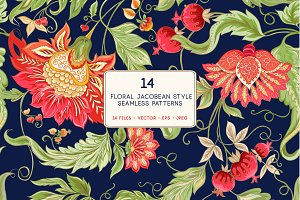 Jacobin Seamless Pattern