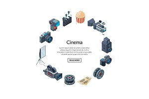 Vector cinematograph elements in