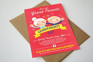 Grand Parents Day Flyer