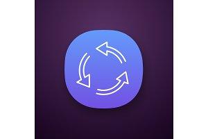 Air conditioning app icon