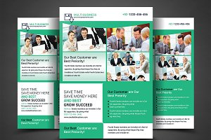 Corporate Business Firm Flyer Templa