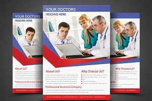 Health & Medical Doctors Flyer Templ
