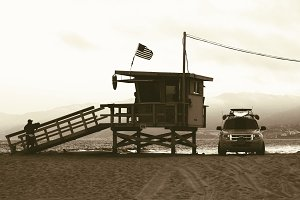 Lifeguard Station in Venice