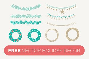 Vector Holiday Decor