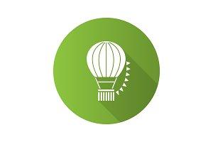 Hot air balloon festival icon