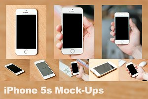 iPhone 5s Mock-Ups