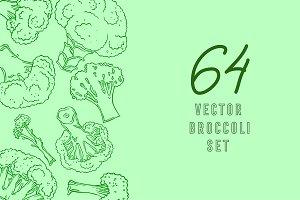 Broccoli, vector