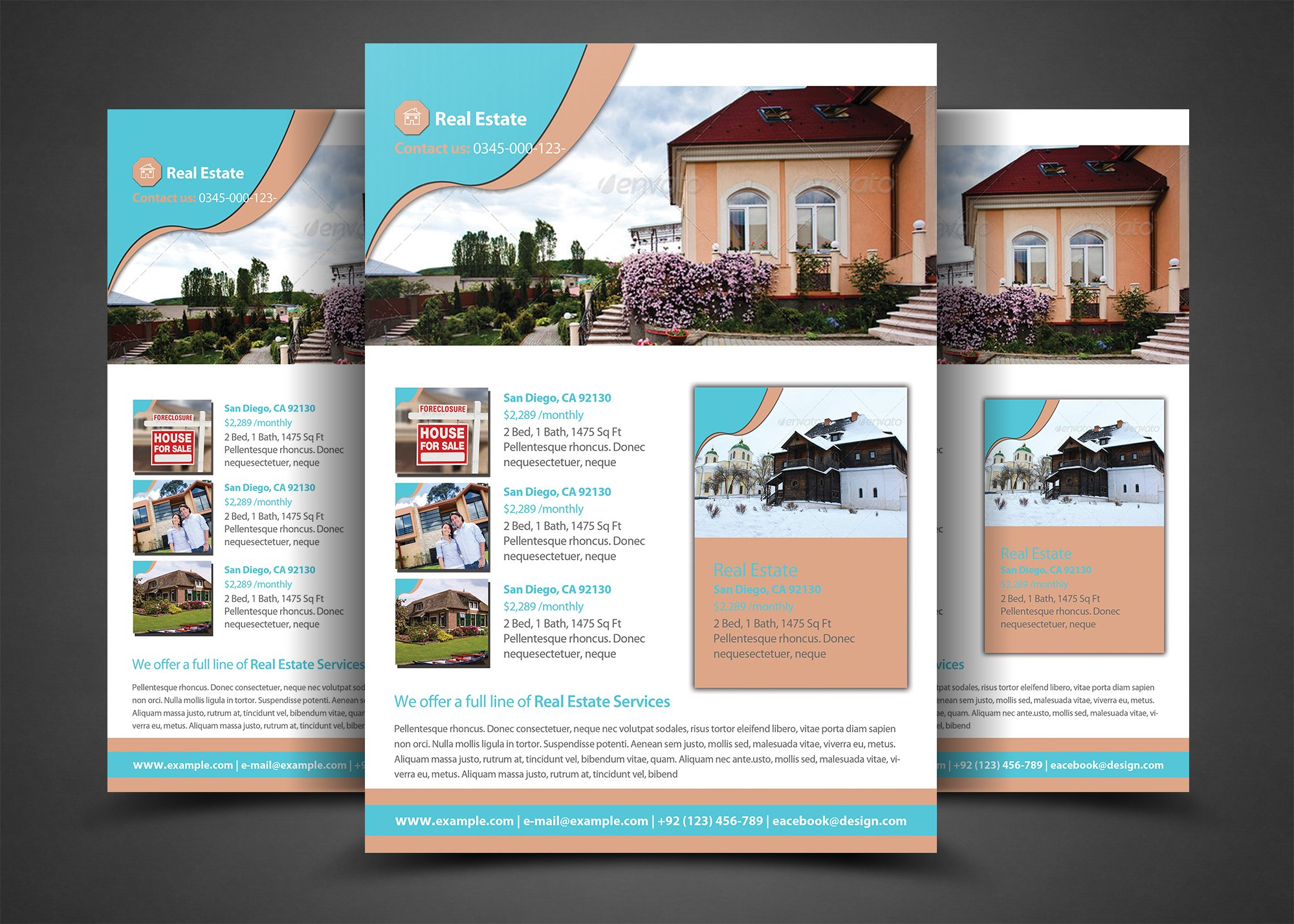 Pro real estate flyer template flyer templates for Real estate craigslist template