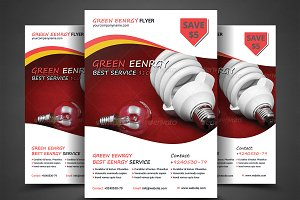 Green Energy Flyer Templates