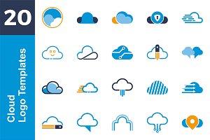 20 Logo Cloud Template Bundle