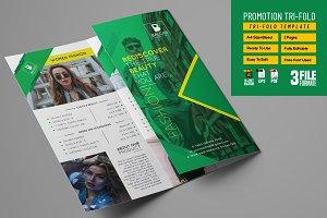 Shop Promotion Tri-fold