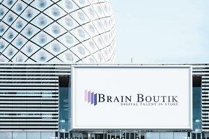 Brain Boutik Logo Design