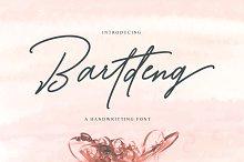 Bartdeng Handwritten Font | NEW