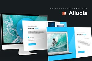 Allucia - Powerpoint Template