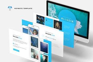 Allucia - Keynote Template