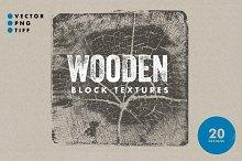 Wooden Block Textures - 20 Designs