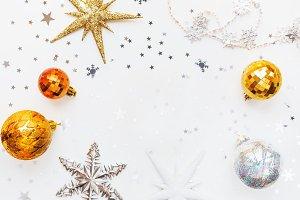 Christmas and New Year holiday ball