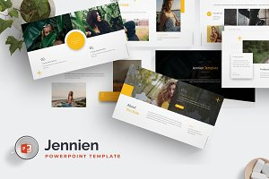Jennien - Powerpoint Template