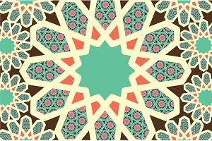 islam/muslim/malay motif vector