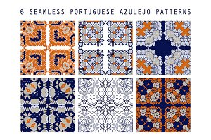 Traditional ornate portuguese