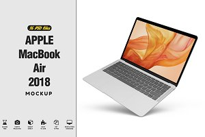 Apple MacBook Air 2018 Mockup