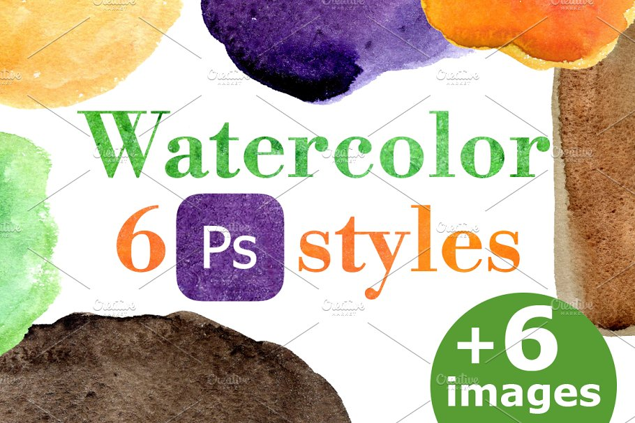 30% off.Watercolor PC style for text