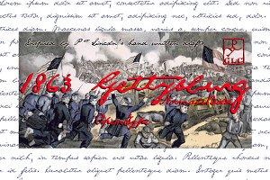 1863 Gettysburg Set (N+B)