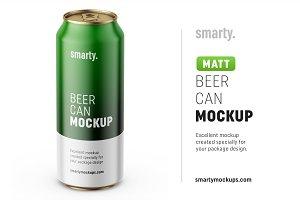 Beer can mockup