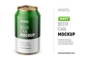 Beer can mockup / 330 ml