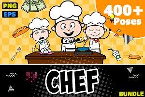 Chef ~ Cartoon Character Set