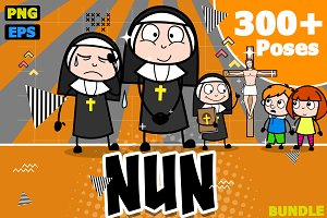 Nun ~ Cartoon Character Set