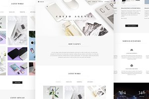 Creed Agency Portfolio HTML Template
