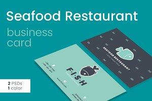 SeafoodRestaurant Business Card