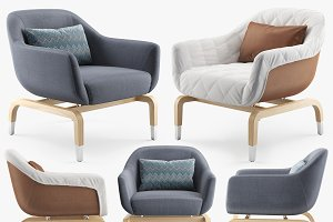 outdoor armchair SMANIA FIGI