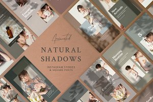 Natural Shadows Stories - Social Kit