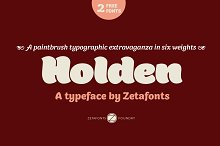 Holden - Intro Promo 80% by  in Sans Serif Fonts