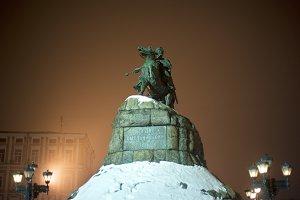 B.Khmelnytsky monument. Kyiv,Ukraine
