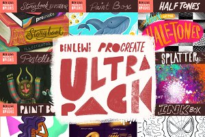 Ben Lew's Procreate Ultrapack